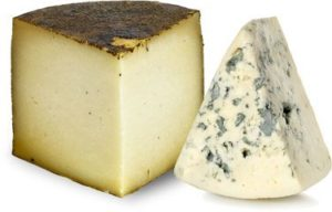 <p>Cheeses: </p><p>Idiazábal and Blau de l'Avi Ton</p>
